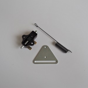 Stop switch + holder + spring , Jawa, CZ