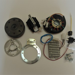 Electronic ignition VAPE 6 V twin cylinder, Jawa Perak, Ogar, Kyvacka, CZ