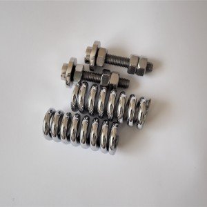 Springs and screws for seat holder, Jawa 500 OHC