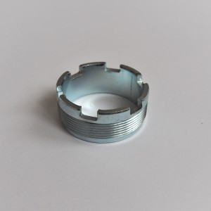 Nut for exhaust pipe, zinc, Jawa 350/634