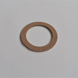Gasket for cap of fue ltank 60x83x3, cork, Jawa, CZ 1946-1994