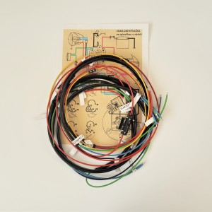 Wiring harness, switch box in fuel tank, Jawa 125/175/250 Kyvacka