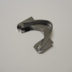 Chain cover extender, chrome, Jawa 350