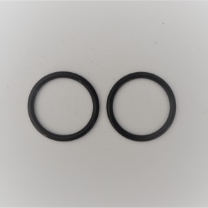 Rubber locking ring wheel covers  PAV, 2 pieces