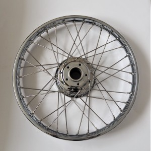 Rear wheel, Jawa 175/250 Special