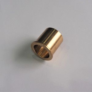 Bushing for swing arm rear spindle, brass, Jawa Kyvacka, Panelka