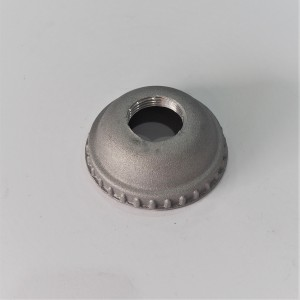 Nut of Carburettorcover, diameter 62 mm, height 22 mm, aluminium, Jawa, CZ