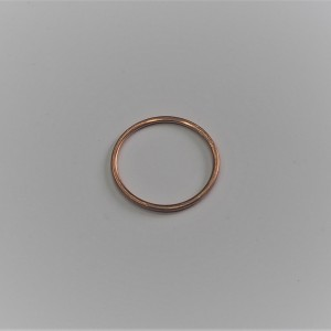 Gasket of exhaust pipe, copper, Jawa Jawa 250/350/500 1946--