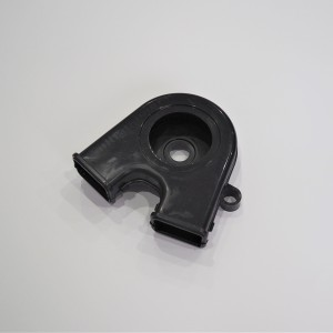 Chain cover extender, plastic, Jawa 350/634-640
