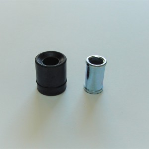 Rubber between frame and rear shock absorber with bush Jawa, CZ 1954--