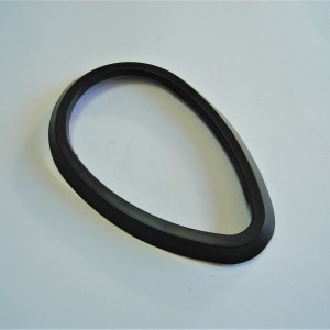Rubber for amperemeter - black Jawa, CZ