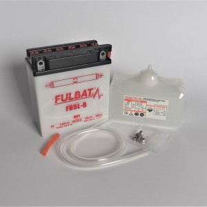 Motorcycle battery 12V-5Ah, 11,5x13x6cm