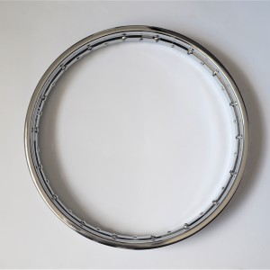 Rim 1,85/19 inches, chrome, Jawa, CZ