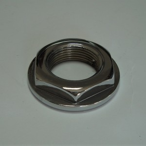 Nut for rear chainwheel  chrom, 250/350 Perak