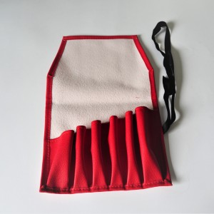 Bag for tools, red, leatherette, Jawa, CZ