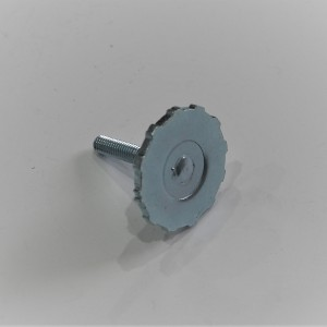 Screw for side cover, zink, Jawa 634-639