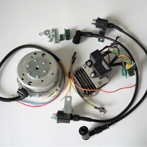 Electronic ignition GEMO® - D04 12V twin cylinder,  Jawa,CZ 350 632,638, 639,640
