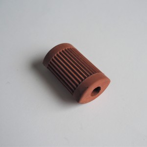 Rubber for speed lever, red, Jawa 1946--