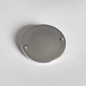 Cover cap fuel tank, chrome, Jawa 175/250 Special