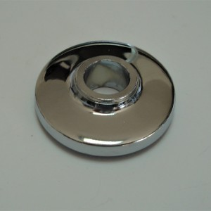 Cover for rear wheel bearing, chrome, Jawa Perak, OHC 00, 01