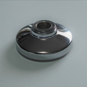 Cover for front wheel bearing, chrome, Jawa Perak