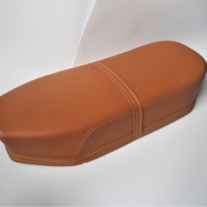 Seat, leatherette, light brown, Jawa, CZ 1960----