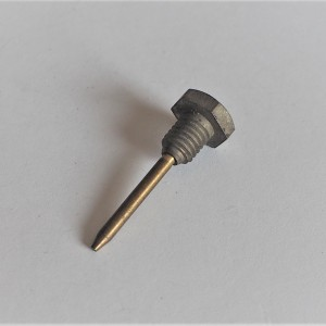 Screw for carburettor float chamber with needle, Jawa, CZ