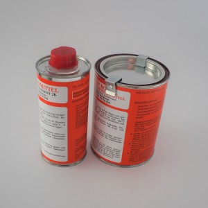 Paint for painting / protecting fuel tanks / inside /