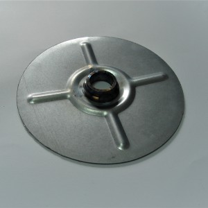 Rear sprocket carrier cover, zinc, Jawa 250/350 1954---