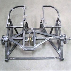 Chassis bare with differential, Jawa Perak-Riksa