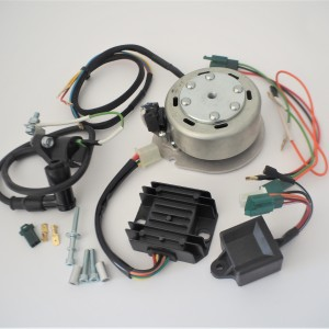 Electronic ignition GEMO® - D06 12V, single cylinder, Jawa 50 type 23 MUSTANG