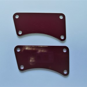 Engine holders, red, Jawa 250/350 Kyvacka