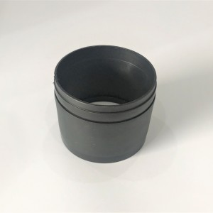 Tachometer cover with rolling, plastics, Jawa 634-639
