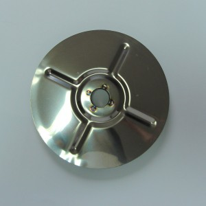 Rear chainwheel cover, stainless, Jawa 250/350 1954--