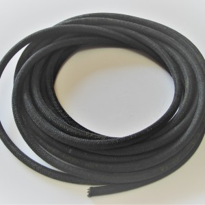 Fuel hose braided 6/10 mm, black, 1m, Jawa, DKW, ZUNDAPP, NSU, M72 and other