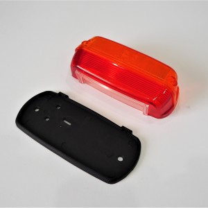 Cover for rear light with rubber, orange-red, PAV 40, CZ 125-250