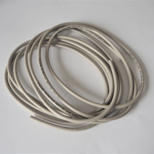 High voltage cable, white, silicone, Jawa, CZ