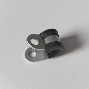 Pipe Clamps, black, 10 mm, Jawa, CZ