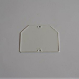 Rear registration number plate, 14x10,5cm, Jawa, CZ
