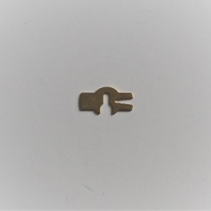 Safety-clip of throttle needle for carburetor, brass, 0.5 mm, Jawa, CZ