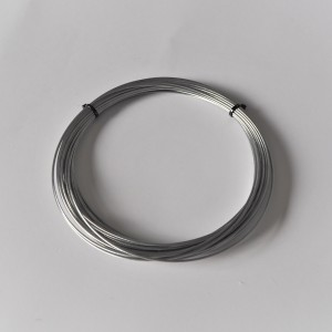 Steel cable, fi 1,25 mm, Packung 10 m