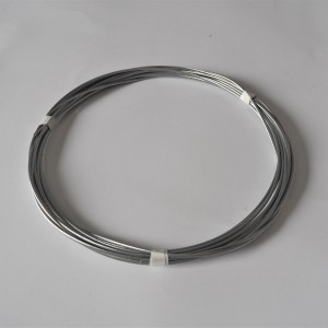 Steel cable, fi 3,0 mm, Packung 10 m