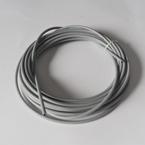 Bowden cable outer, gray, fi 4,0 mm, packung 10 m