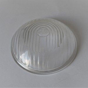 Glass of head lamp, diameter 150 mm, cat, Jawa 175/250 Special