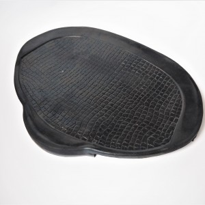 Seat cover, rubber, sign: Baťa, CZ 125/150