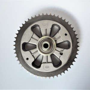 Sprocket wheel driven, 52 t, rear, complete, original, Jawa 634-640