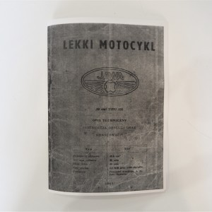 Instruction manual Jawa 50 type 555 - L.POLISH A5 format, 46 pages