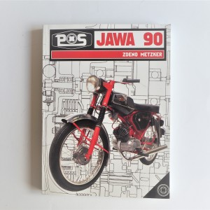 Book Jawa 90 - L.SLOVAK, C5 format, 262 pages