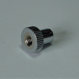 Nut for brake rod M6, chrome, Jawa, CZ