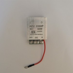 Regulator for dynamo 6V/60 W + pole AEV 0360P